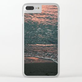 Seattle Sunset Clear iPhone Case