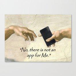 God's Gift -No App #2 Canvas Print
