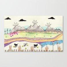 Road Trip Canvas Print
