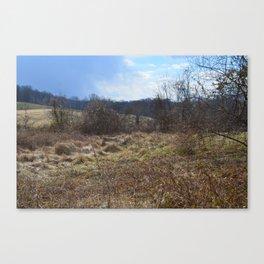Valley Turbulence   Canvas Print
