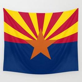 Arizona: Arizona State Flag Wall Tapestry