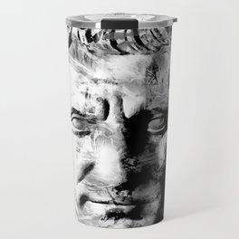 JULIUS CAESAR (BLACK & WHITE VERSION) Travel Mug
