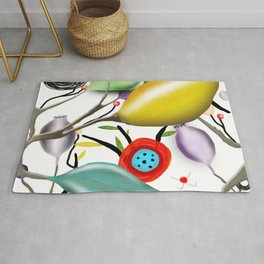Cinque Terre - Lemons Lemon - Italian Riviera - Limoni Lemon Pattern Home Decor Rug