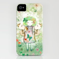 Lady Butterfly of the hope iPhone (4, 4s) Slim Case