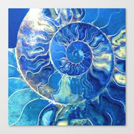 madagascarblue Canvas Print