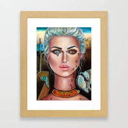Memories of Dali Fantasy Surrealism by Laurie Leigh Framed Art Print