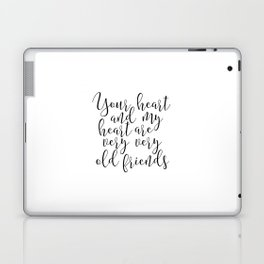 Hafiz Quote Valentines Day Decor Gift For Her Printable Quotes Best Friends Gift Love Sing Laptop & iPad Skin