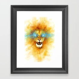 Lion of Judah Framed Art Print