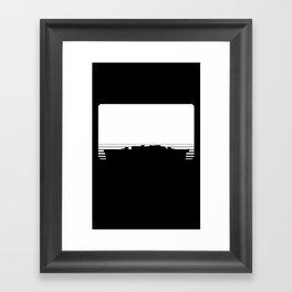 Battleship Game Piece Framed Art Print