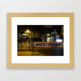 Night Motion Framed Art Print