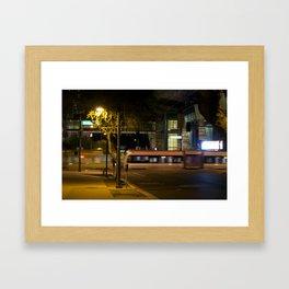 Night Motion Framed Art Print