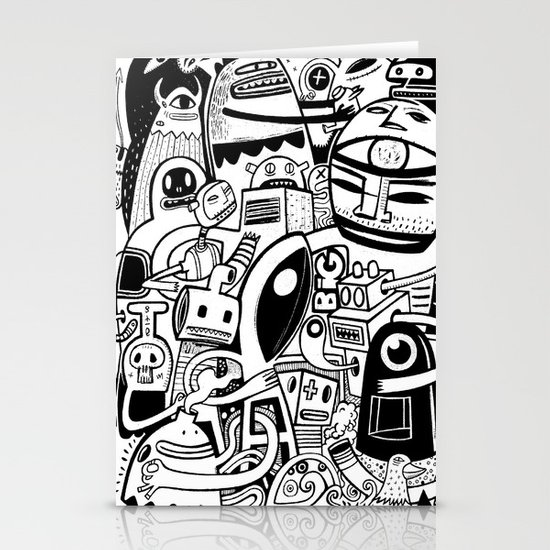 BIG - BW Stationery Cards