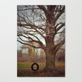 Tire Swing 2 Canvas Print