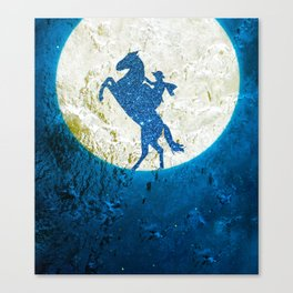 Surreal horse Canvas Print