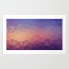 Deep Sunrise Art Print