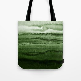 WITHIN THE TIDES FOREST GREEN by Monika Strigel Tote Bag