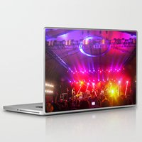coachella Laptop & iPad Skins featuring Midnight City M83 Coachella by The Electric Blue / Yen-Hsiang Liang (Gr