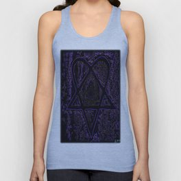 Nightmare Heartagram Unisex Tank Top