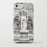 hercules iPhone & iPod Cases featuring Hercules' back by Roberto Pagani