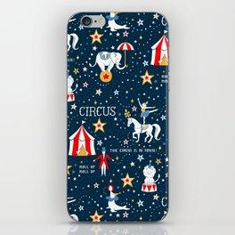 Retro Circus iPhone Skin