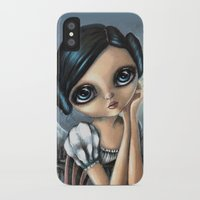 princess leia iPhone & iPod Cases featuring Leia by ZELYSS