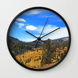 Mt Rose Wall Clock
