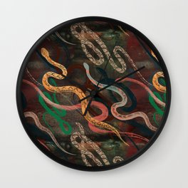 Snake me more Wall Clock