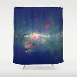 Stars Gather in 'Downtown' Milky Way Shower Curtain
