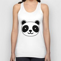 racing Tank Tops featuring Racing Panda by XOOXOO