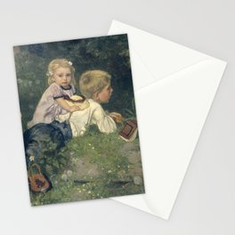 The Butterflies - August Allebé (1871) Stationery Cards