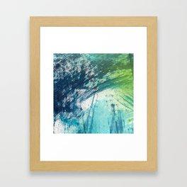 Variations in blue 3 Framed Art Print