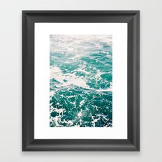 Dive In Framed Art Print