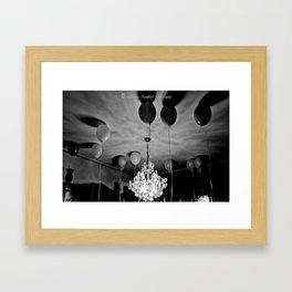 Balloon Gloom by Igh Kihl Media/Piffington Kushfield Photography Framed Art Print