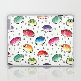 Round Rain Frogs Laptop & iPad Skin