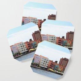 Willemstad on Curacao Panorama Photo Coaster