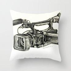 Sony HVR-V1U Throw Pillow