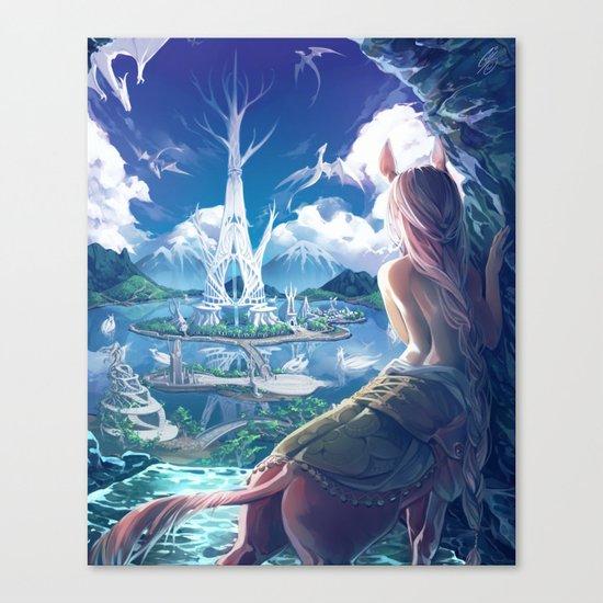 Lilandra Canvas Print