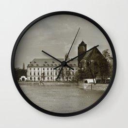 Wroclaw 1 Wall Clock