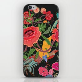 Flowers and Birds iPhone Skin