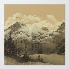 The Mountain Lake Canvas Print