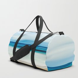 Blurred Beach Duffle Bag
