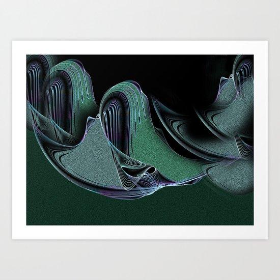 Moonlight Shadows Art Print