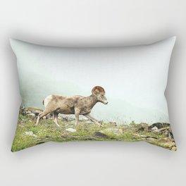 Mountain Ram Rectangular Pillow