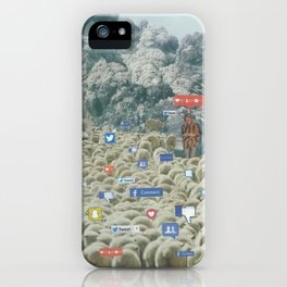 Counting Tweets iPhone Case