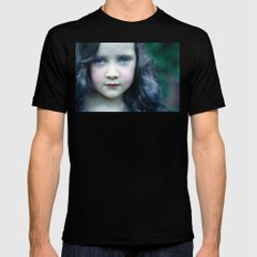 Even in my alternate universe, the rain makes my hair curl.  Mens Fitted Tee MEDIUM Black