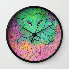 Lion -- Self Command Wall Clock