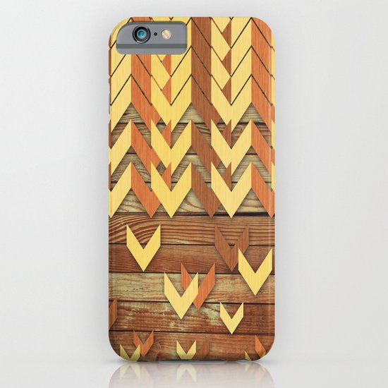 ZigZag Woody iPhone & iPod Case