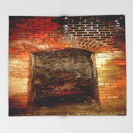 Cheviot Tunnel - Enclaves Throw Blanket