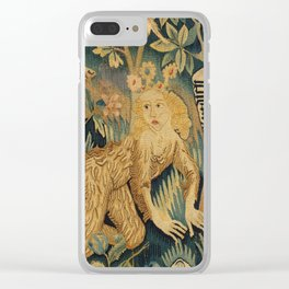 Two Scenes from Der Busant Clear iPhone Case