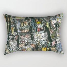 Dirty dishes Rectangular Pillow